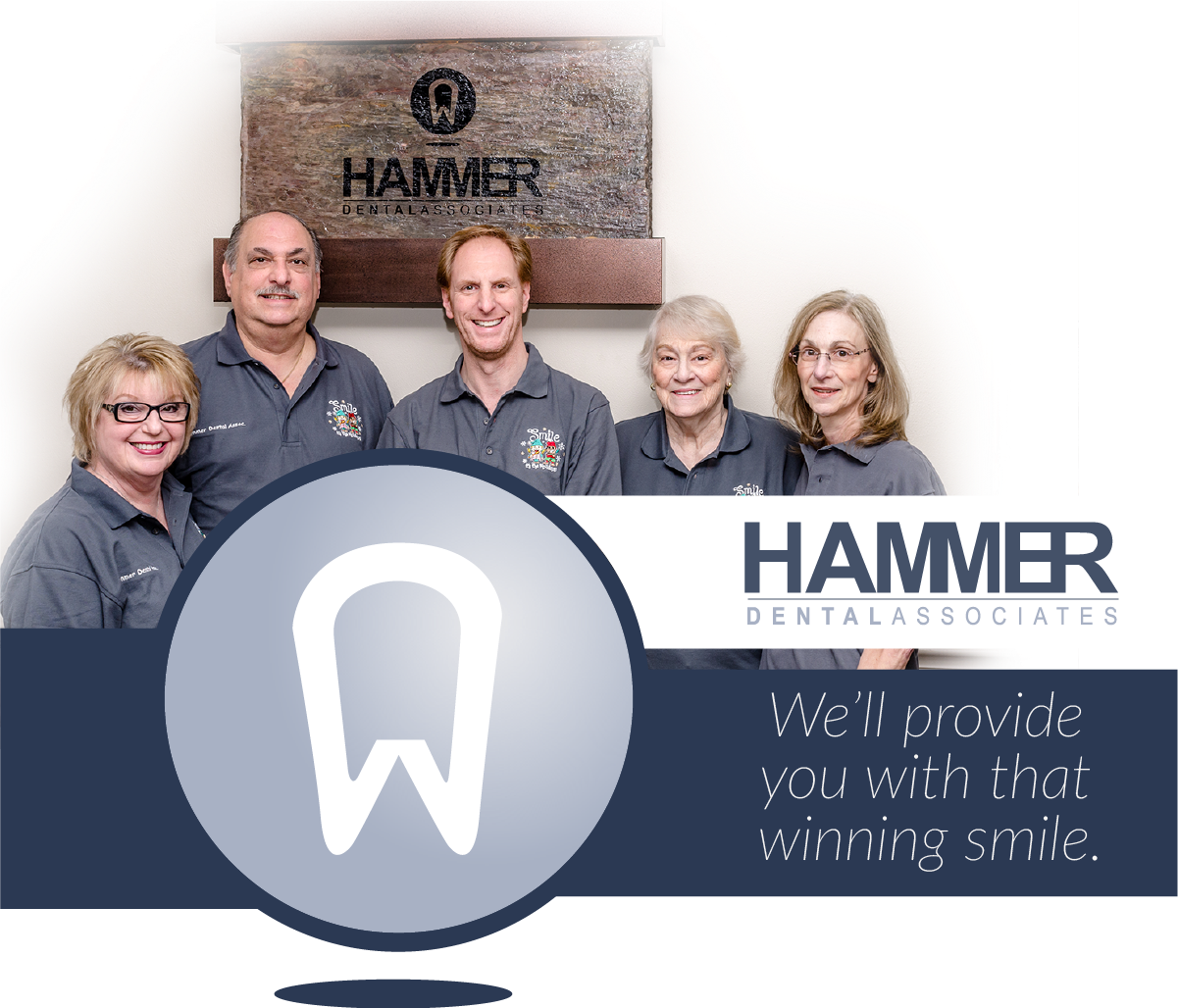 Hammer Dental Associates staff group photo